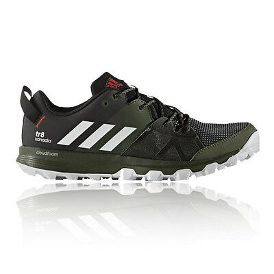 Adidas Kanadia 8 TR Mens Black Trail Running Road Sports Shoes Trainers Pumps