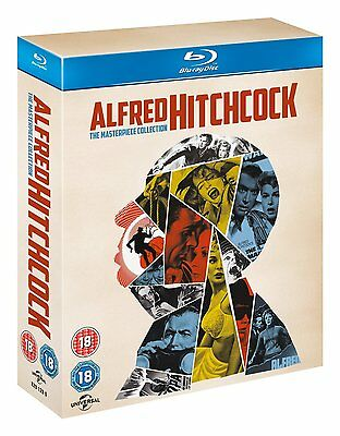 Alfred Hitchcock The Masterpiece Collection Blu Ray Pack 14 Discos Nuevo