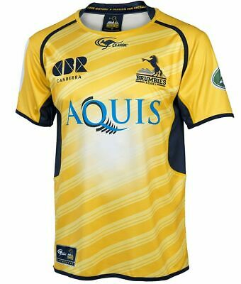 ACT Brumbies 2016 Away Jersey 'Select Size' S-5XL BNWT