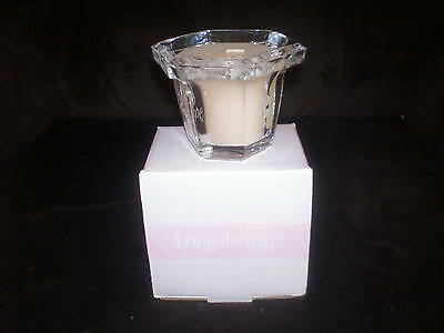 Longaberger Horizon of Hope Crystal Filled Candle - Made in USA - NIB