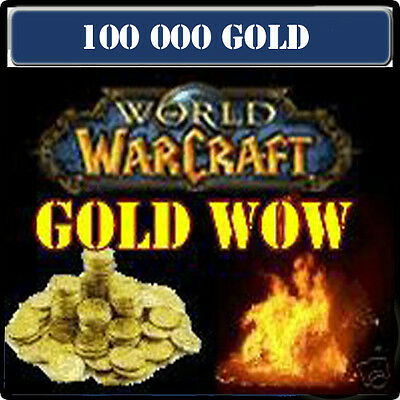 WoW GOLD PACK 100 000 PO ---Serveur hyjal Alliance-Horde/Elune Horde---