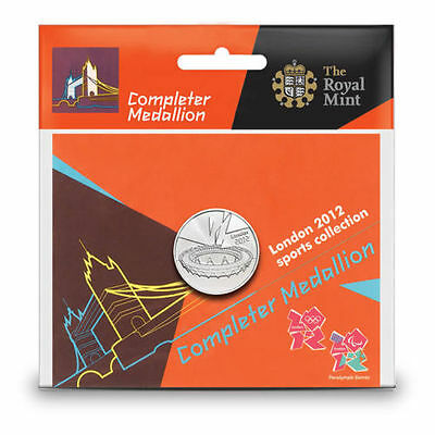 Completer Medallion 2012 Olympics Coin Sports Collection New And Sealed.