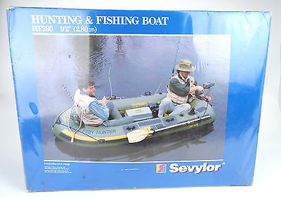 Sevylor Hunting & Fishing Boat HF 280. 4 Person W/ Tunnel Chambers. 2.8M