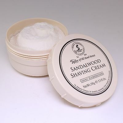 Sandalwood Luxury Shaving Cream 150g, Taylor of Old Bond St