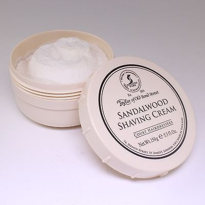 Taylor of Old Bond Street : Sandalwood  Shaving Cream 150g,
