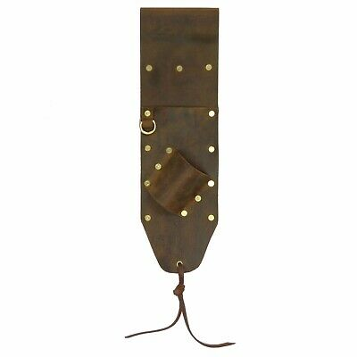 High Quality Brown Leather Sheath for PinPointer and Digging Tool Right Sided