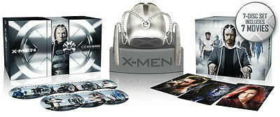 X-Men: Complete Collection with Cerebro Helmet (7 Titles) (Blu-ray  7 Disc)
