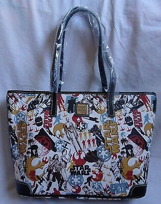 NWT 2016 Disney Star Wars Rogue One Dooney & Bourke Shopper Tote And Bag Purse