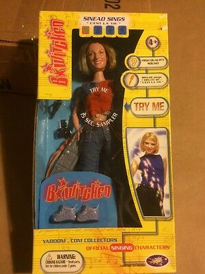 B*Witched Singing DOLL Bewitched SINEAD Figure C'est La Vie 1999 PLAYALONG