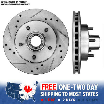 Front Performance Drilled And Slotted Brake Rotors Regal Camaro Monte Carlo S-10