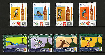 SRI LANKA - Thematic Stamp Collection - Sport, Olympic, MNH