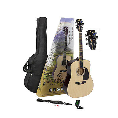 Guitar Pack Acustico Soundsation Yosemite-Gp-Nt