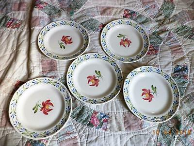 Royal Doulton Ambleside 5 Bread Plates Free Ship