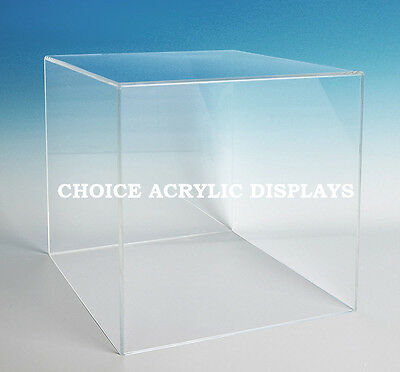 Large Box Case | Acrylic Cube Display | Large Collectible Cover | Box Stand