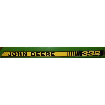 John Deere Hood Trim Decal Set - M90174 M90175 - 332