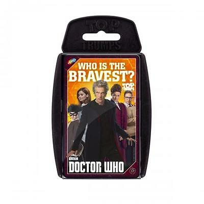 Doctor Who Top Trumps Card Game
