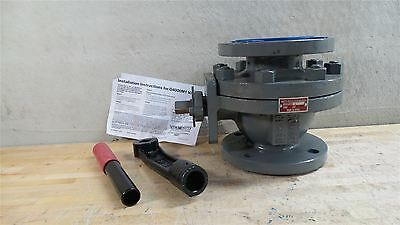 """Watts G-4000M1-3"""" 3 In Pipe Size Flanged x Flanged Cast Iron Ball Valve"""