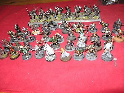 Lord of the Rings painted models
