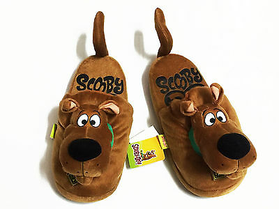 Scooby Doo Brown Slippers Women UK 3-7, US 5-9, EU 35-41 #025