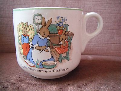 Nelson Ware Made in England Little Miss Bunny in Distress cup