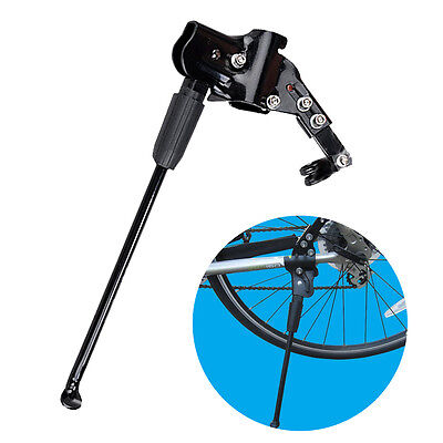 Adjustable Bike Bicycle Aluminum Alloy Rear Side Stick Kick Stand for 24''-29''