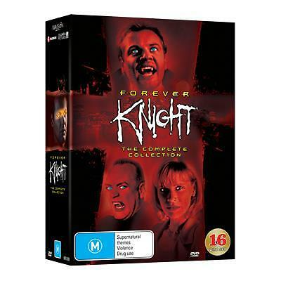 Forever Knight : Season 1-3 (DVD, 2016, 16-Disc Set) (Region 4) Aussie Release