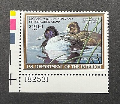 WTDstamps - #RW56 1989 Plate# - US Federal Duck Stamp - Mint OG NH