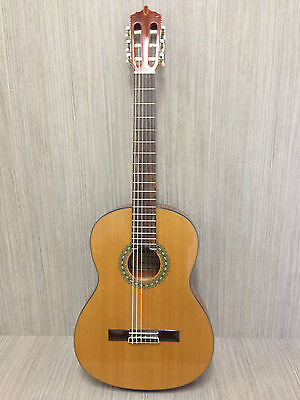 C-4/4 N Full size Solid Cedar Top nylon string Classical Guitar Factory 2nd