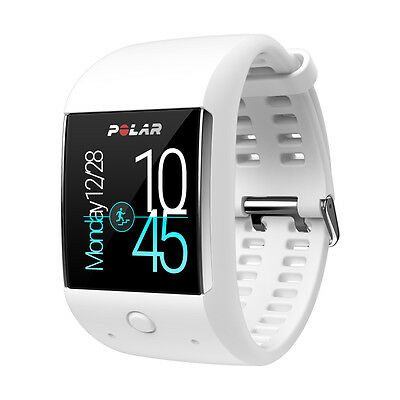 Polar M600 GPS Sports Smart Watch, Wrist Based Heart Rate, Fitness Watch, White