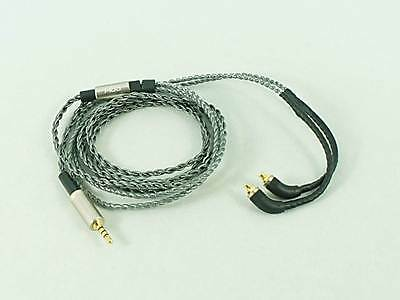FIDUE A83 2.5mm/3.5mm MMCX Balanced Silver-Plated Audiophile Earphone Cable