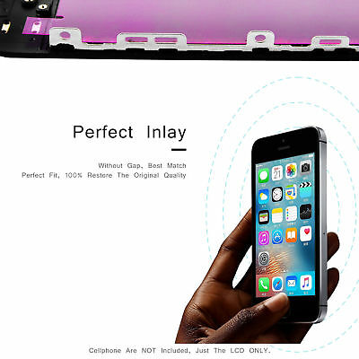 For iPhone 5c 5s 6 6sPlus LCD Digitizer Touch Screen Replacement Black White AUS