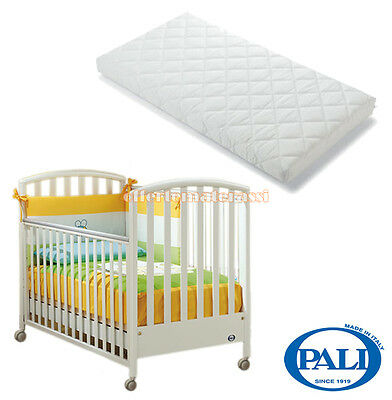Lettino Ciak Pali bianco + Materassino baby Pali Evolution lettino + materasso