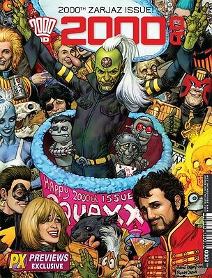 2000AD Prog #2000 Previews Exclusive Cover (Variant / 2016 / NM)