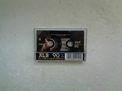 Vintage Audio Cassette MAXELL XLII 90 From 1998 - Fantastic Condition !!