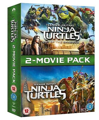 Teenage Mutant Ninja Turtles: 2-Movie Pack (Box Set) [DVD]