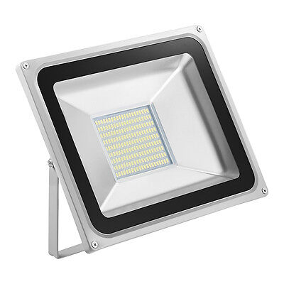 New 100W IP65 LED Security Light Floodlight Outdoor Garden Lamp Cool White SMD
