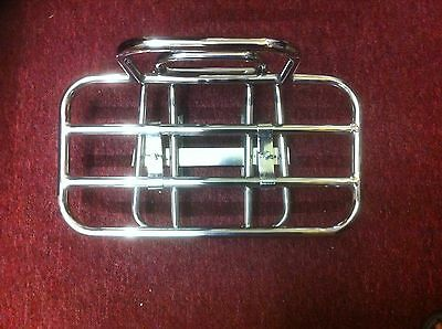 Stainless steel rear rack luggage carrier  Lambretta SX GP DL LI TV all series