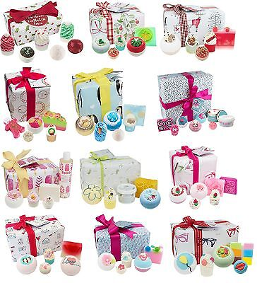 New Bomb Cosmetics Christmas Luxury Handmade Bath Pamper Gift Sets