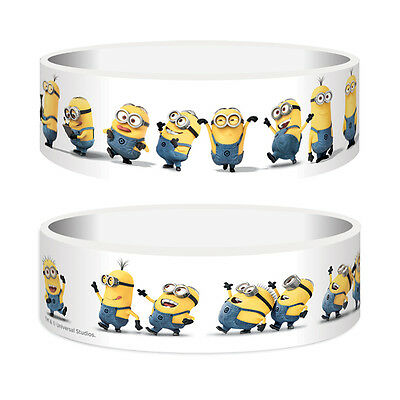 Despicable Me 2 (Minions) Silicone Rubber Wristband Bracelet Gummy Official