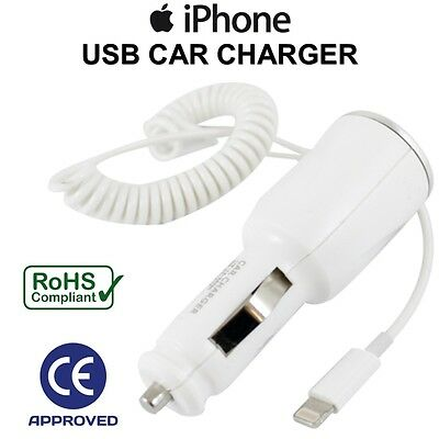 New In Car Fast Charger For Apple iPhone 7 / 7 Plus + iPad 4 Mini + Air UK