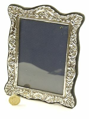 "Vintage Sterling Silver - Photo / Picture FRAME - 5 1/2"" x 4"" - SF113"