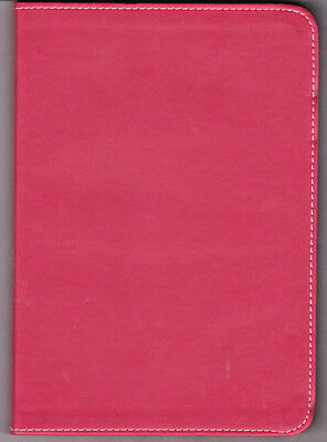 LINED RED JOURNAL Faux Leather 200 PAGES 8X6 FREE SHIPPING    E-BOX1