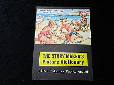 1973  Reprint Paperback The Story Makers Picture Dictionary - J.Noel