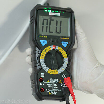 UT71D True RMS Digital Multimeter Ohm Capacitance Thermometer Tester AC DC Power