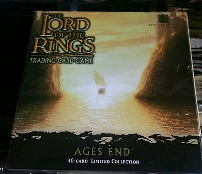 LORD OF THE Rings Ages End Booster Box CCG Factory Sealed Look!!!