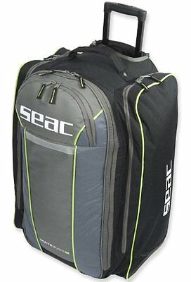 Seac Sub Mate Flight Lightweight Dive Bag - Ideal for Air Travel