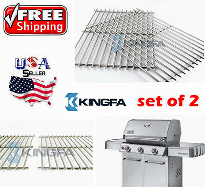 9930 BBQ Stainless Steel ROD Replacement Cooking Grill Grid Grate for Weber 9930