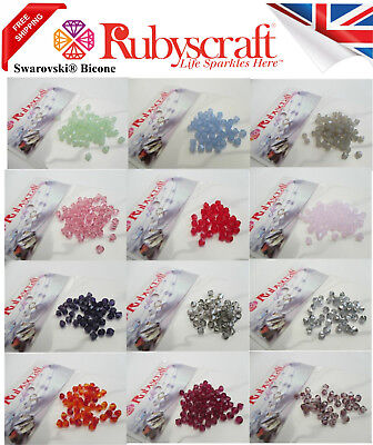 36 Pieces Swarovski Elements Crystal 5328 Xilion Bicone 5Mm Beads