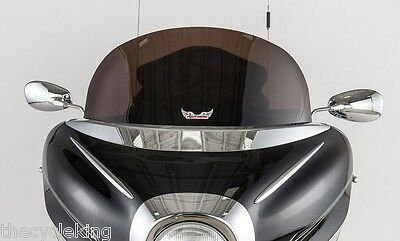 "Yamaha XVZ 1300 Royal Star Venture - NEW 10"" Dark Smoke Tinted Windshield"