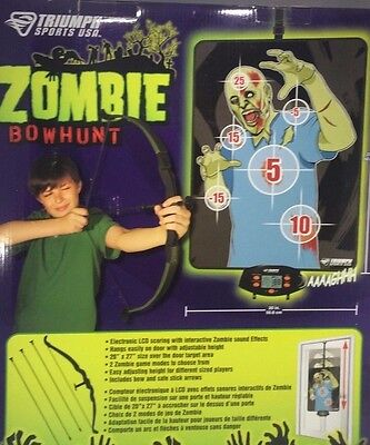 Triumph Sports Over-the-Door Zombie Bow Hunting Game